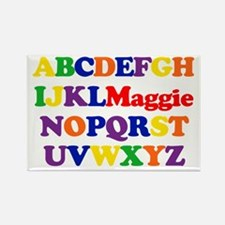 Maggie - Alphabet Rectangle Magnet