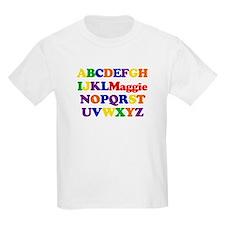 Maggie - Alphabet T-Shirt