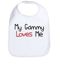My Gammy Loves Me Baby Bib