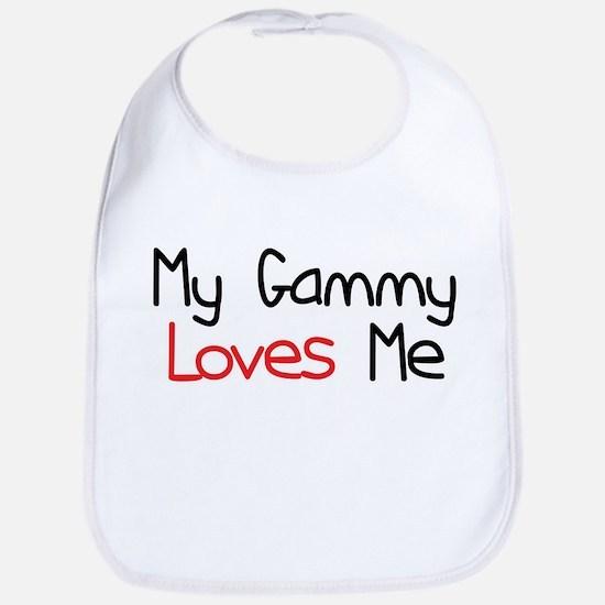 My Gammy Loves Me Baby Bib