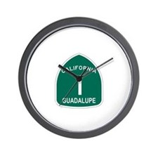 Guadalupe, California Highway Wall Clock
