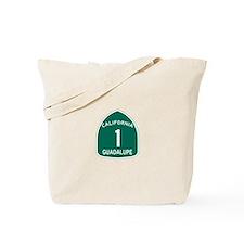Guadalupe, California Highway Tote Bag