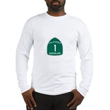 Guadalupe, California Highway Long Sleeve T-Shirt