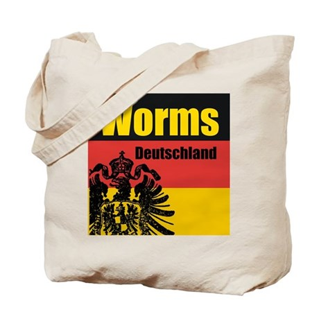 Worms Deutschland Tote Bag