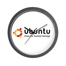 Ubuntu Wall Clock