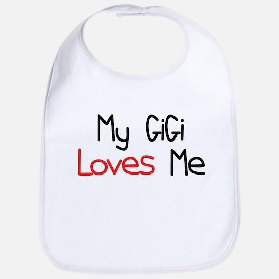 My GiGi Loves Me Baby Bib
