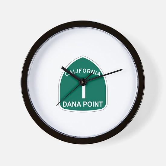 Dana Point, California Highwa Wall Clock
