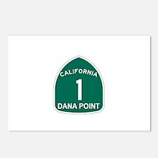 Dana Point, California Highwa Postcards (Package o