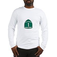 Dana Point, California Highwa Long Sleeve T-Shirt