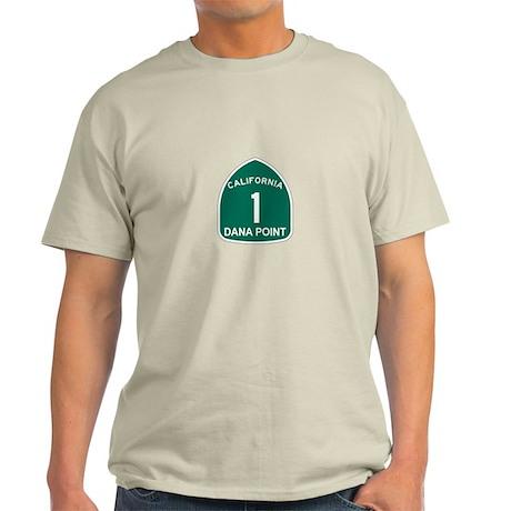 Dana Point, California Highwa Light T-Shirt
