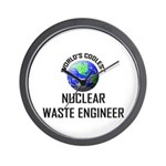 World's Coolest NUCLEAR WASTE ENGINEER Wall Clock