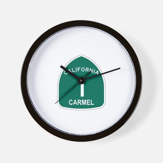 Carmel, California Highway 1 Wall Clock