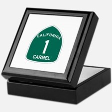 Carmel, California Highway 1 Keepsake Box