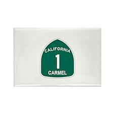 Carmel, California Highway 1 Rectangle Magnet