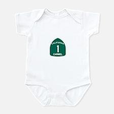 Carmel, California Highway 1 Infant Bodysuit