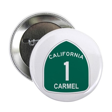 "Carmel, California Highway 1 2.25"" Button"