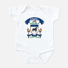 Rottie Coat Of Arms Infant Bodysuit