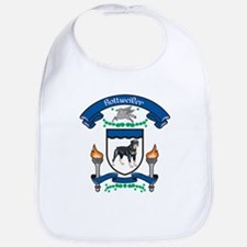 Rottie Coat Of Arms Bib
