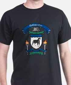 Rottie Coat Of Arms T-Shirt