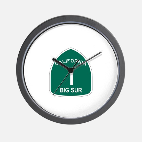Big Sur, California Highway 1 Wall Clock