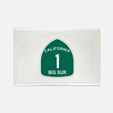 Big Sur, California Highway 1 Rectangle Magnet