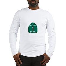 Big Sur, California Highway 1 Long Sleeve T-Shirt