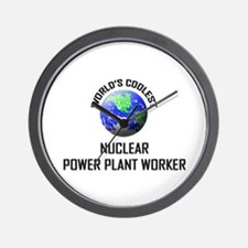 World's Coolest NUCLEAR POWER PLANT WORKER Wall Cl