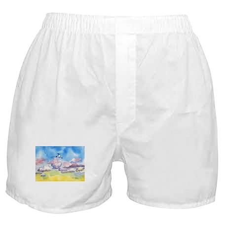 Gull at Sunset Boxer Shorts
