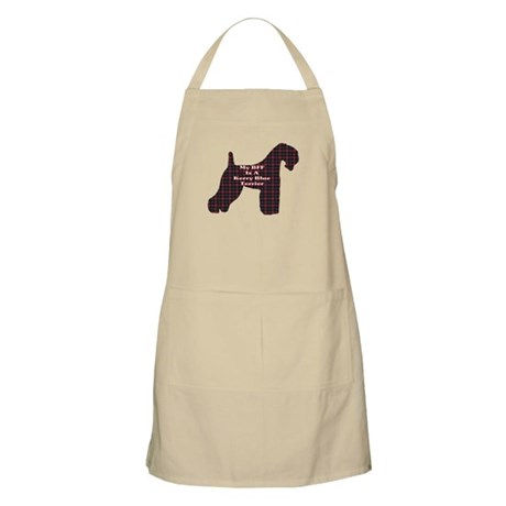 BFF Kerry Blue Terrier BBQ Apron