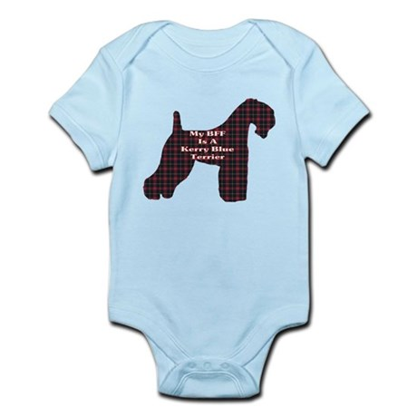 BFF Kerry Blue Terrier Infant Bodysuit