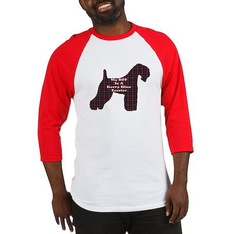 BFF Kerry Blue Terrier Baseball Jersey