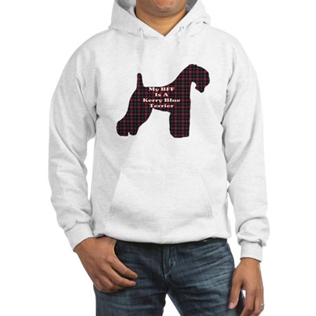 BFF Kerry Blue Terrier Hooded Sweatshirt