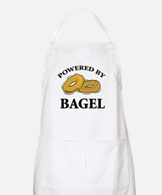 Powered By Bagel BBQ Apron