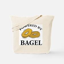 Powered By Bagel Tote Bag