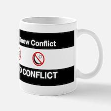 No Religion, No Conflict Mug