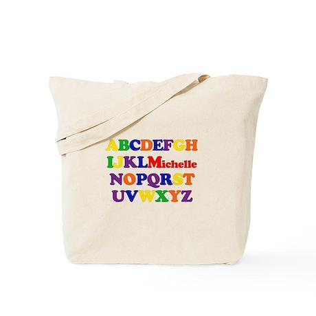 Michelle - Alphabet Tote Bag