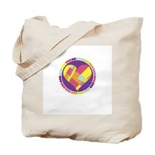 Patchwork Heart Tote Bag