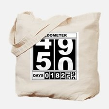 50th Birthday Oldometer Tote Bag