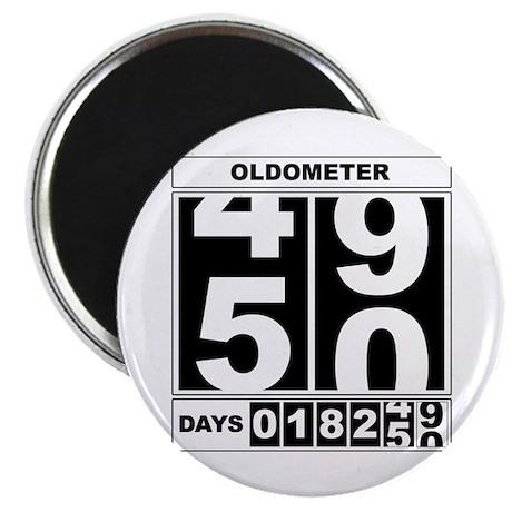 50th Birthday Oldometer Magnet
