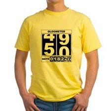 50th Birthday Oldometer T
