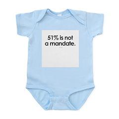 51% is not a mandate ~ Infant Creeper
