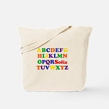 Sofia - Alphabet Tote Bag