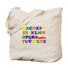 Sophia - Alphabet Tote Bag