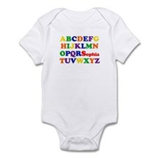 Sophia - Alphabet Infant Bodysuit