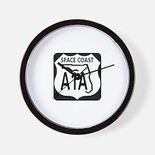 A1A Space Coast Wall Clock