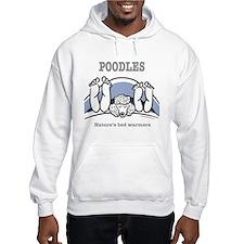 Poodle bed warmers Hoodie