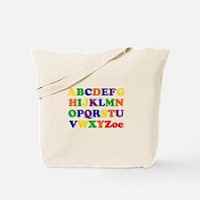Zoe - Alphabet Tote Bag