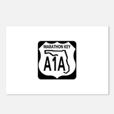 A1A Marathon Key Postcards (Package of 8)