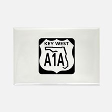 A1A Key West Rectangle Magnet (100 pack)