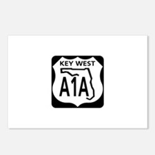 A1A Key West Postcards (Package of 8)
